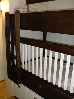 Custom Made Bunkbed-Crib