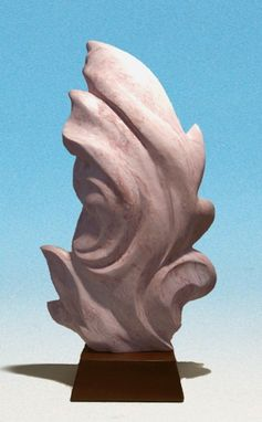 Custom Made Stone Sculpture, Abstract Modern Design