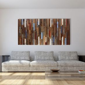 Wood Wall Art Made Of Old Reclaimed Barnwood Diffe Sizes Available