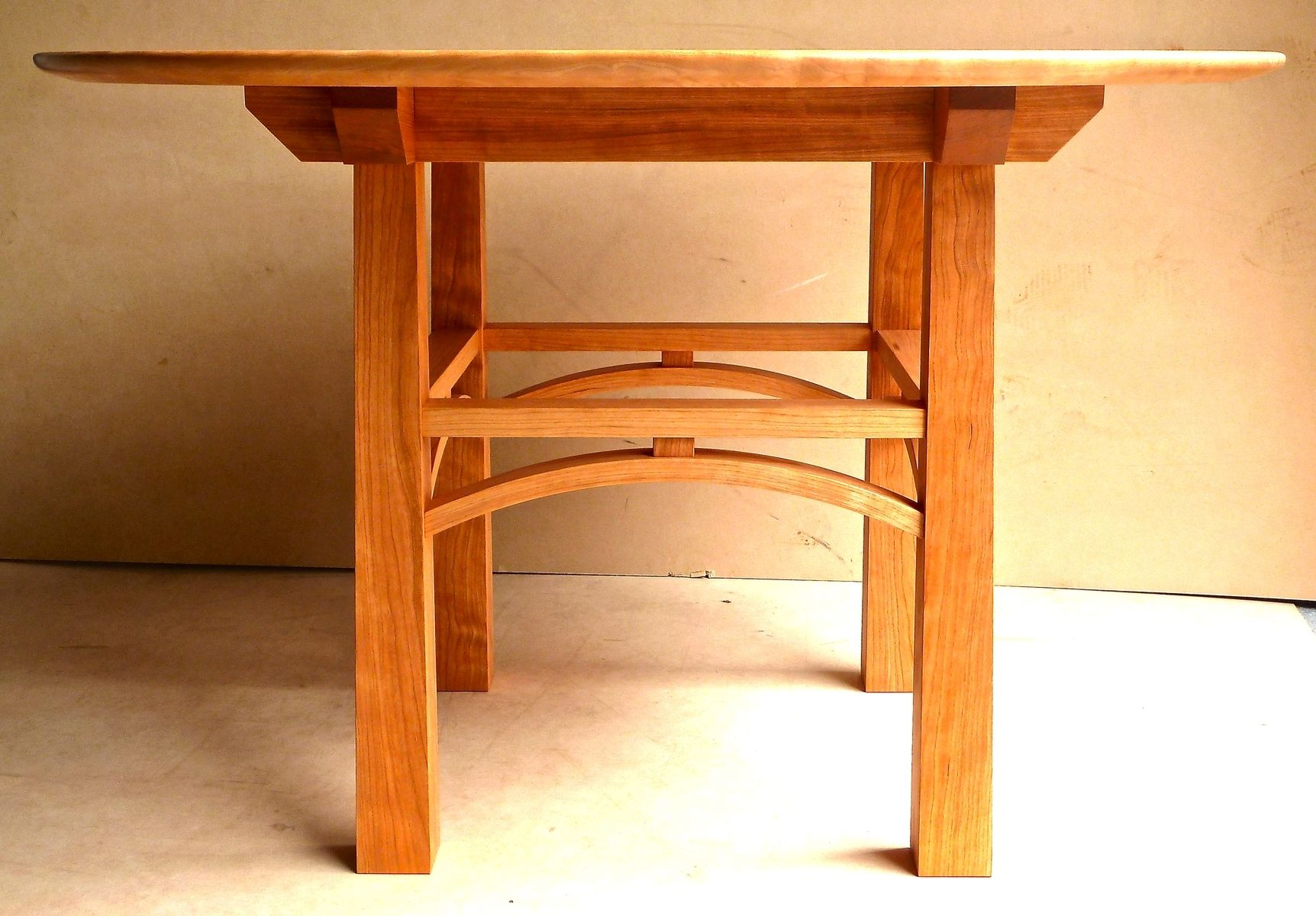 Cherry And Maple Kitchen Table