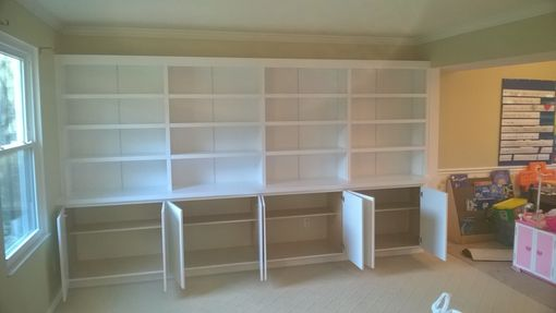Custom Made Custom Made Built In Bookcase