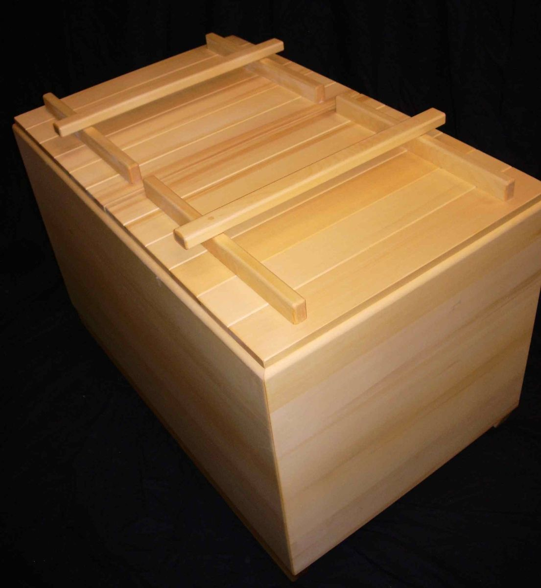 Custom Traditional Hinoki Ofuro By Seaotter Woodworks Inc