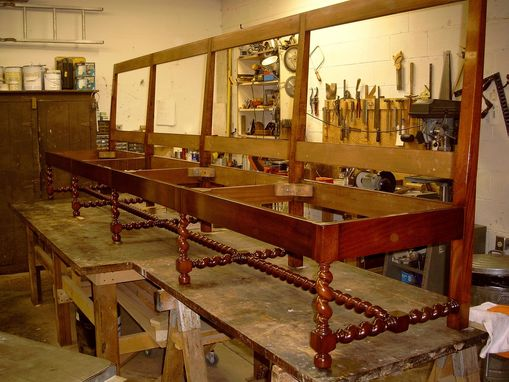Custom Made Custom Designed Wine Tables & 13' Bench (Banquette)
