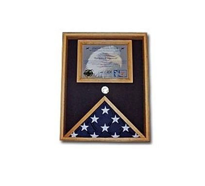 Custom Made Military Certificate Case Military Flag And Document Case