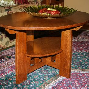 Brilliant Mission Coffee Tables Craftsman Arts And Crafts Stickley Bralicious Painted Fabric Chair Ideas Braliciousco