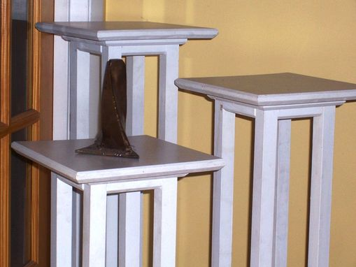 Custom Made Pedestal Set