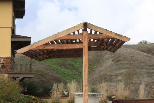 Custom Made Jalousie Pergola For Boccii Ball Court
