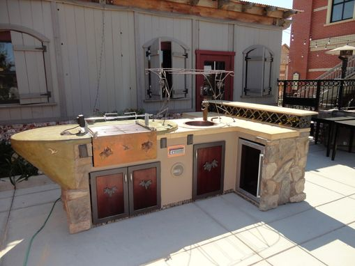 Custom Made Mobile Wine Bar