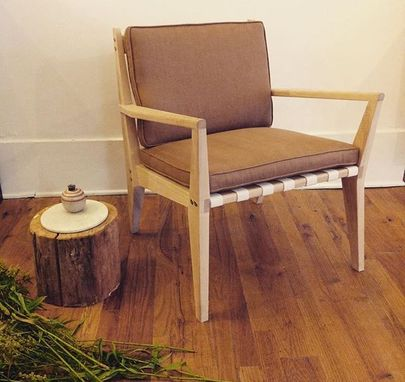 Custom Made Morrison-Taylor Lounge Chair