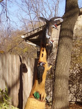 Custom Made Pileated Woodpeckers