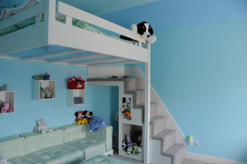 Built In Custom Loft Bed