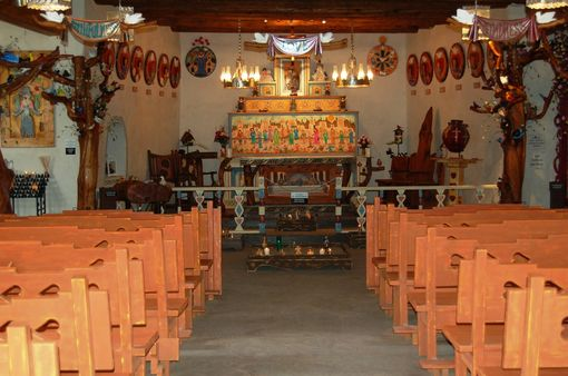 Custom Made Santuario De Chimayo, Santo Nino Chapel Interior Project