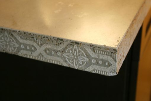Custom Made Concrete Kitchen Tops