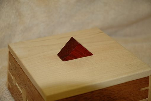 Custom Made Small Mahogany Box # 2
