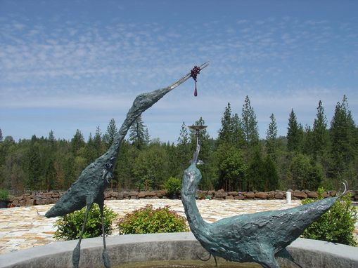Custom Made Heron Sculpture At Miraflores Winery