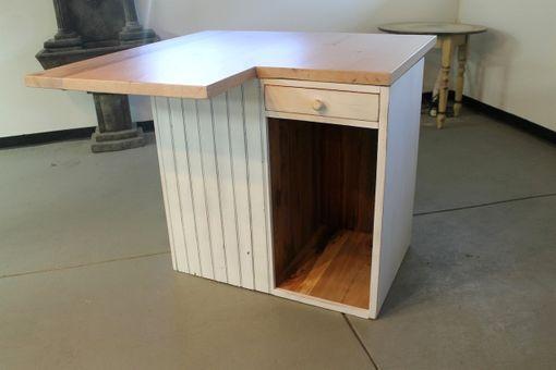Farmhouse Kitchen Island -- Wooden Whale Workshop Custom ...