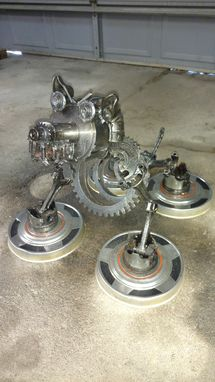 Custom Made Rustic Repurposed Engine Part Trophies