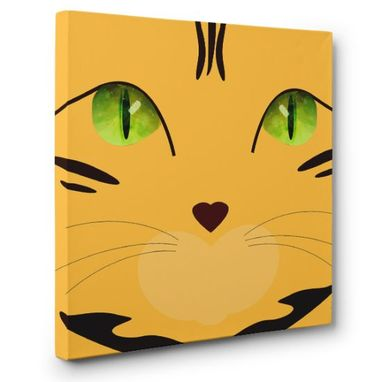 Custom Made Bengal Cat Canvas Wall Art