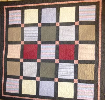 Custom Made Custom Queen Clothing Memory Quilt