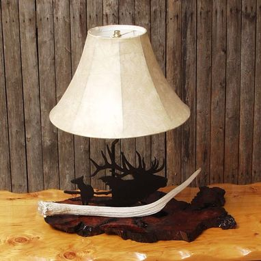 Custom Made Spike Lamp