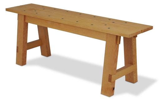 Custom Made Plank Dining Bench
