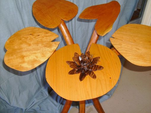 Custom Made Lily Pad Table