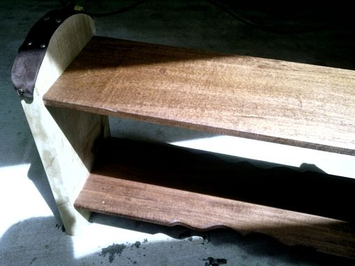 Custom Made Maple Prayer Bench