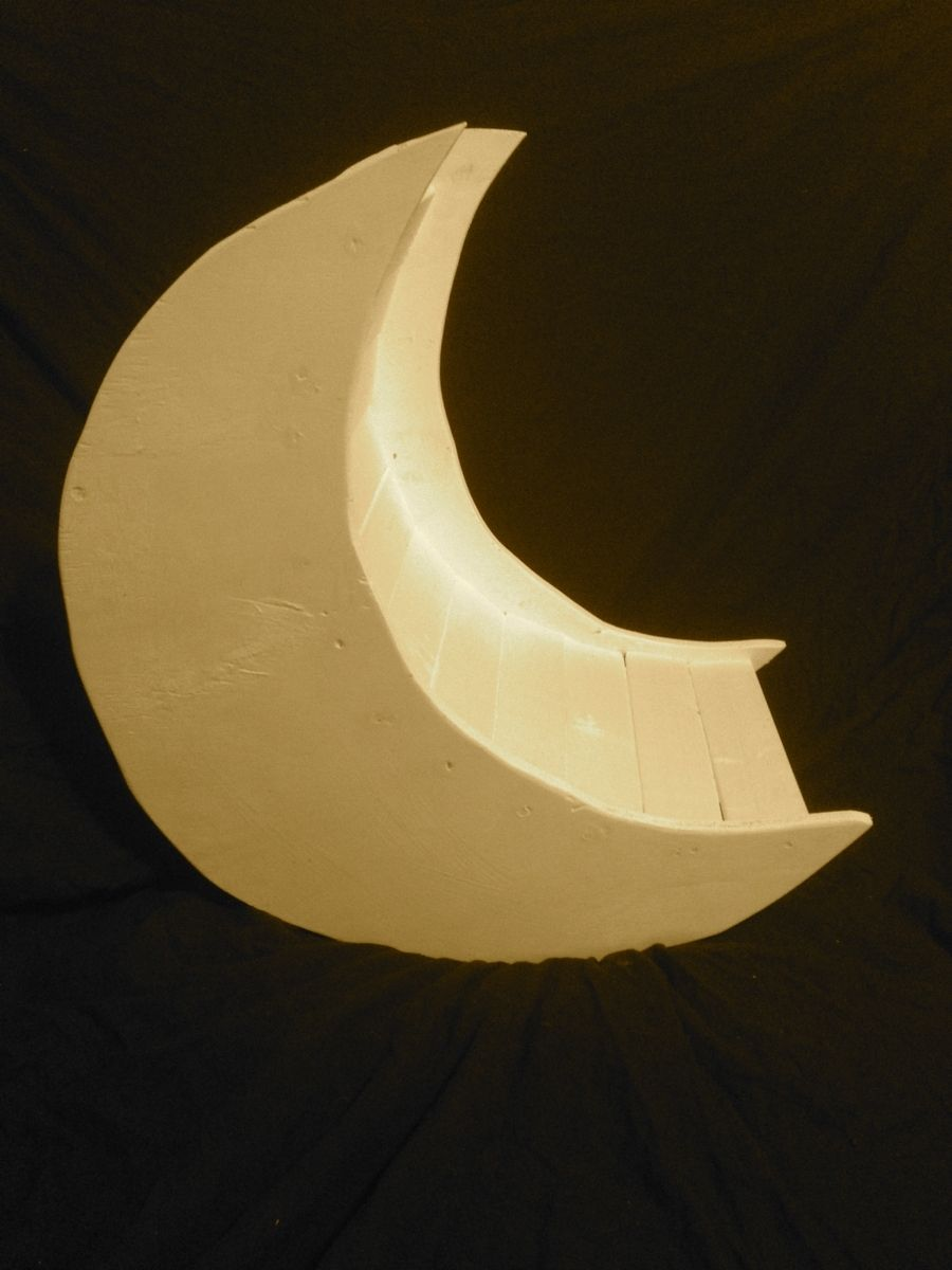 Handmade Sweet Dreams Moon Photography Prop By