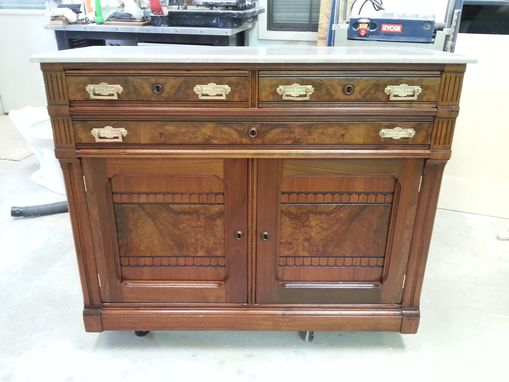 Custom Made Solid Walnut Sideboard
