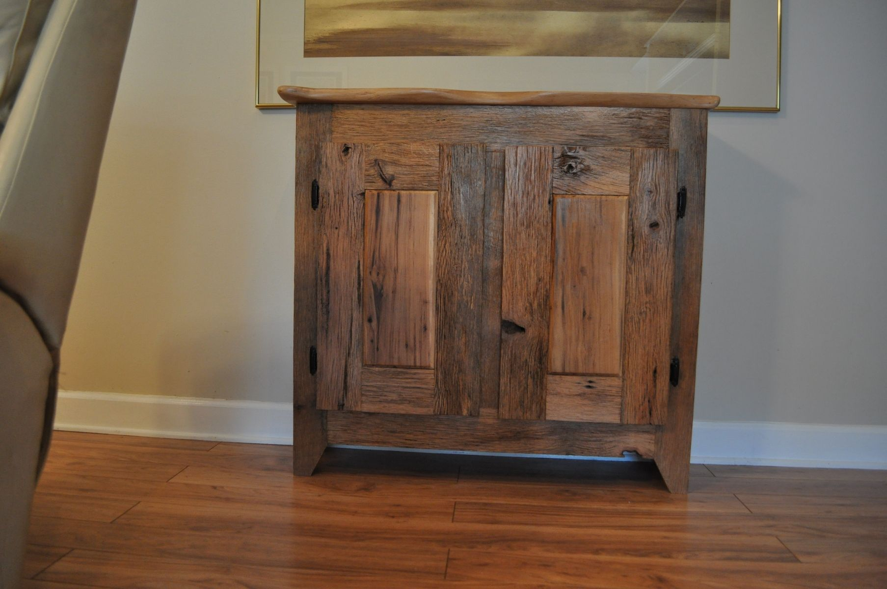 Hand Crafted Custom Made Barn Wood Cabinet by Splinters N More Inc ...