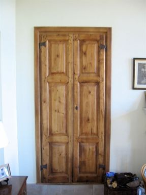 Custom Made Custom Wooden Door #7