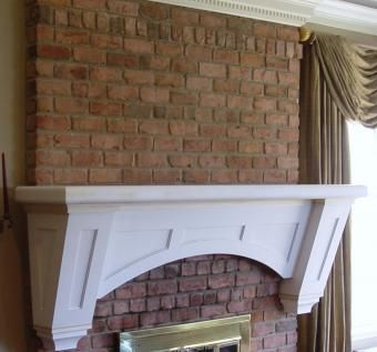 Custom Made Architectural Mantle & Millwork