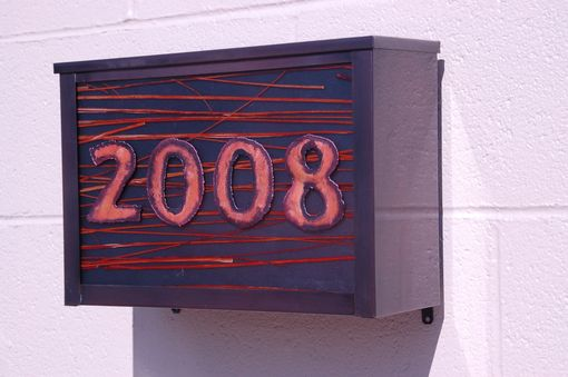 Custom Made Address Mailbox