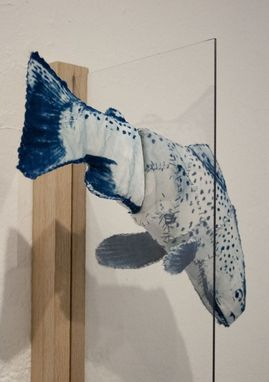 Custom Made Fish: Magnetic Cyanotype Sculptures