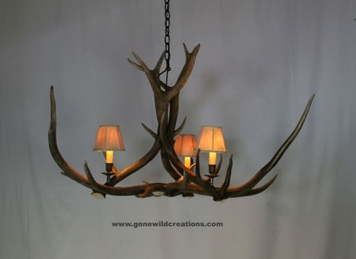 "Custom Made Elk Antler Chandelier ""Small Telluride"""