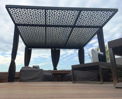 Custom Made Pergola Top