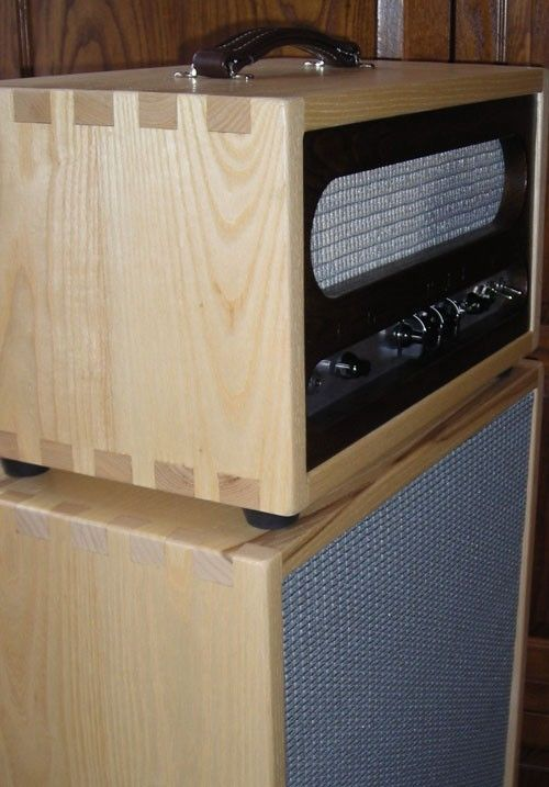 Hand Crafted Custom Amp Cabinet By Burch Guitars Burch