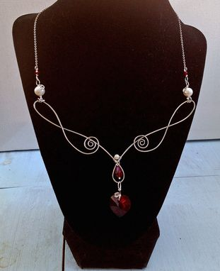 Custom Made Heart Necklace Set