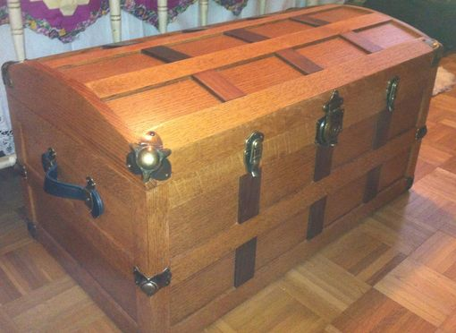 Custom Made Steamer Trunk