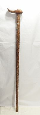 Custom Made Wizard Of Oz Wooden Cane