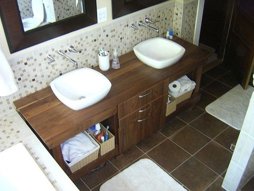 "Hand Made ""American Primitive"" Style Bath Vanities by ..."