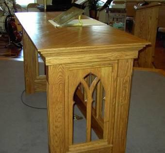 Custom Made Altar Table