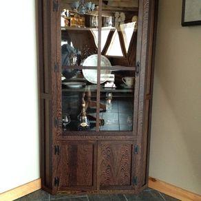 Corner Display Cabinet By Logan Balla