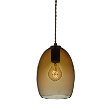 Custom Made Luce Collection- Handblown Glass Globe Pendants