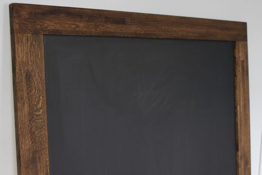 Custom Made Salvaged Oak Framed Chalk Board