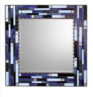 Custom Made Square Mosaic Wall Mirror - Signature Collection