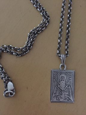 Custom Made Religious Metals - Saints Of Greek Orthodox Faith
