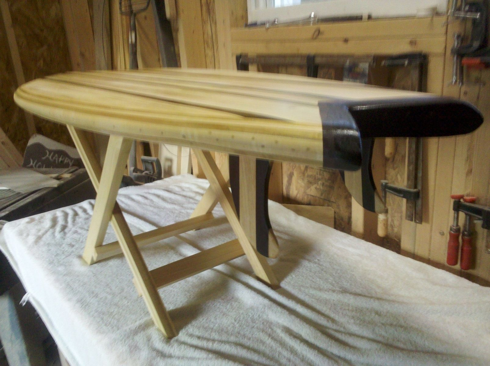 Custom Surfboard Coffee Table By Good Surf Skateboards