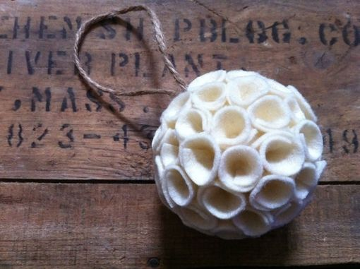 Custom Made Rustic Wedding Kissing Ball