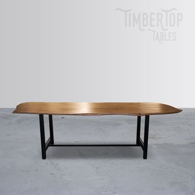Custom Made Live Edge Cherry Dining Table
